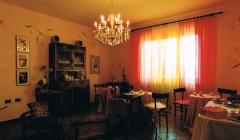 sala colazione e lettura